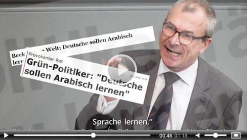Volker Beck Arabisch Lernen