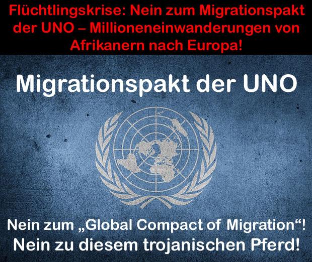 Bildergebnis für Bilder Nein zum Migrationspakt