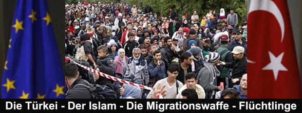 wer schickt flüchtlinge